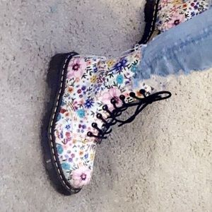 Doc martens, size 5, barely worn, no box.
